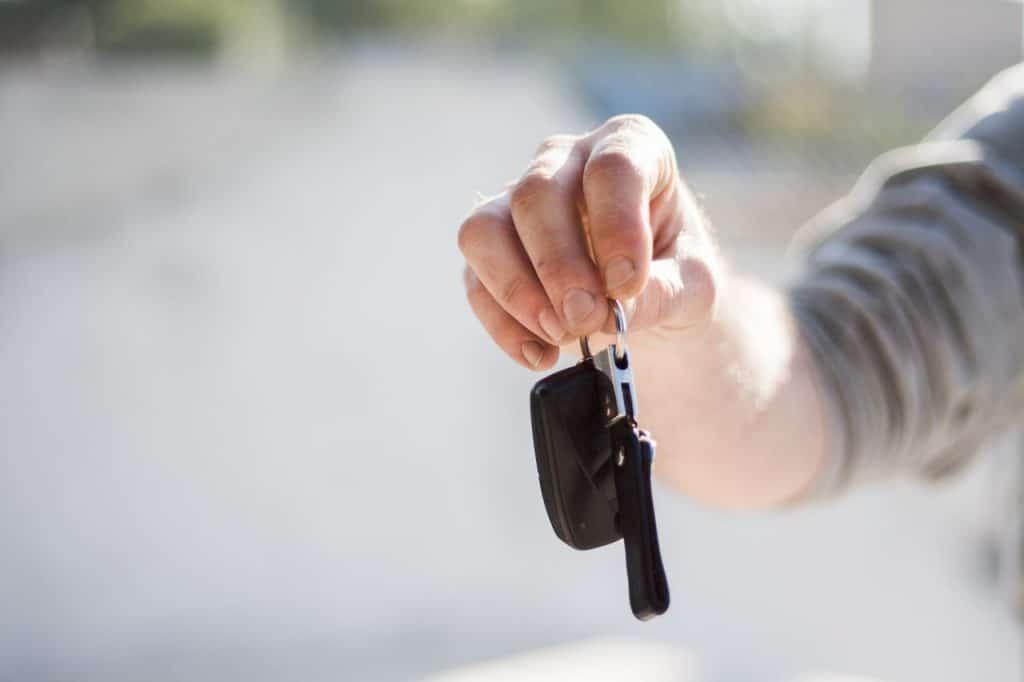 Take car key