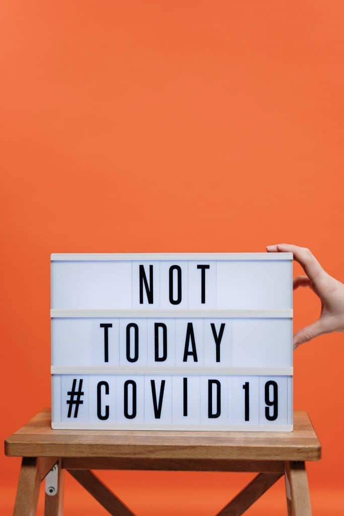 Not Today Coronavirus