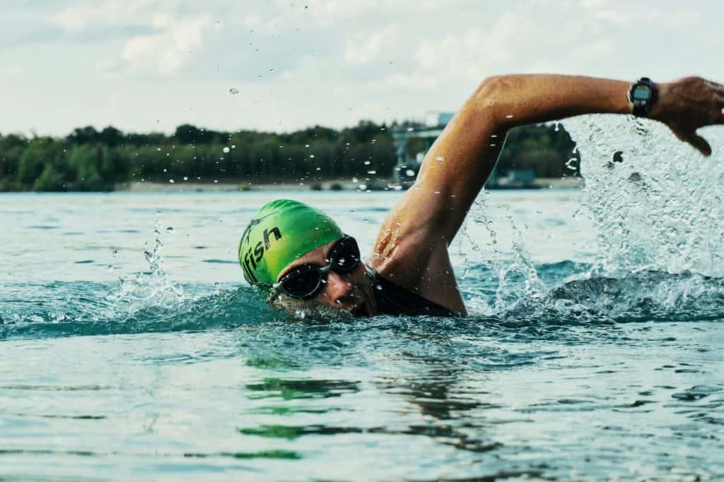 ironman swim