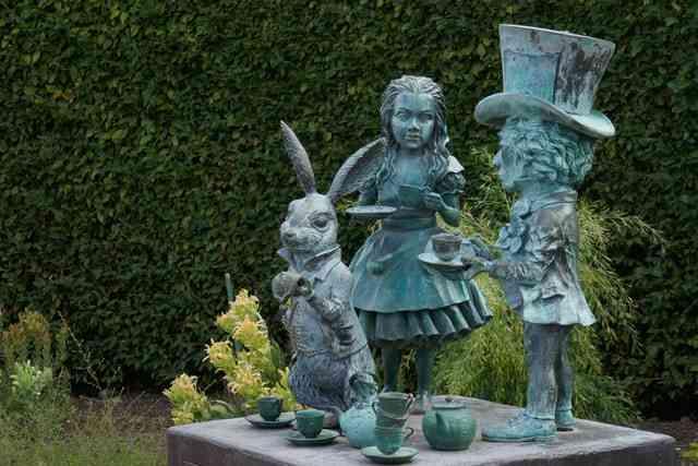 Alice with rabbit